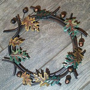 Metal fall wreath 🍁🍂